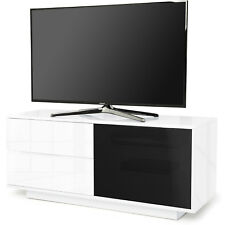 Centurion Supports Gallus Ultra Gloss White with 2 Drawer TV Stand