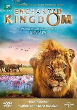 ENCHANTED KINGDOM DVD BBC EARTH WILDLIFE NATURE AFRICA