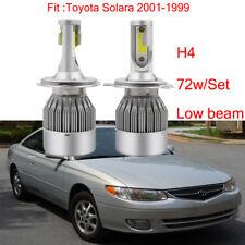 2Pcs H4 Car LED Headlight Kit Bulb For Toyota Solara 2001-1999 Low Beam 6000K