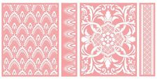 Anna Griffin Cricut Cuttlebug Embossing Folders EMPIRE ARCH & CROWNED MEDALLION