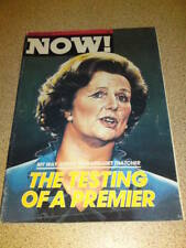 NOW! MAGAZINE #53 - MARGARET THATCHER - Sept 12 1980