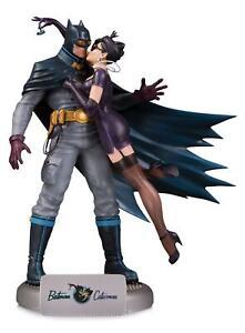 *BOX DAMAGED* DC Comics Bombshells Deluxe Statue Batman and Catwoman 28 cm