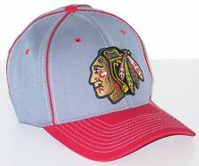CHICAGO BLACKHAWKS NHL HOCKEY ZEPHYR GRAY WRATH ADJUSTABLE HAT/CAP NEW