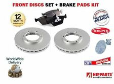 FOR Hyundai Accent ->99 Pony S Coupe MVTi  New FRONT Brake Discs + PADS SET