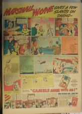 Camel Cigarette Ad: Marshall Wayne Diving Champion Full Page Size ! from 1938