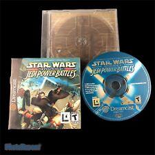 Star Wars Episode 1 Jedi Power Battles Sega Dreamcast Video Game Complete