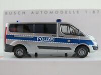 "Busch 52414 Ford Transit Custom Bus (2012-2018) ""Polizei Berlin"" 1:87/H0 NEU/OVP"