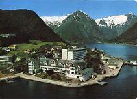 Alte Postkarte - Balestrand - Sognefjord - Kviknes Hotel
