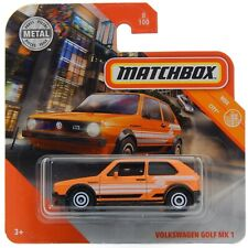 Volkswagen Golf MK1 GTI Rabbit Matchbox MBX City MB1200 #8 2020 Short Card