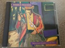 charlie peacock west coast diaries volume two cd freepost in very good condition