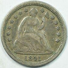 1841-O H10C Liberty Seated Half Dime Very Fine+ VF