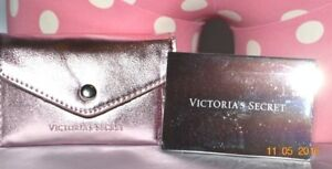 Victorias Secret Metallic Cosmetic Compact Mirror & Case SEXY NWT