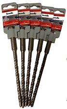 5 Stück KWB Professional SDS plus  Bohrer Betonbohrer Steinbohrer Ø 6 mm