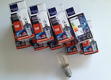 10 Stück Glühbirnen, Glühlampe, Kühlschranklampe, 15W, E14, (0,86€/pro Stück)