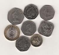 Jersey Guernsey coins £2 £1 & 50p UNC & Circulated multi-listing - Your choice
