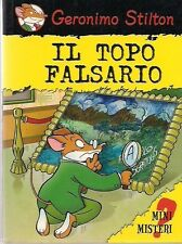 GERONIMO STILTON - MINI MISTERI VOLUME 3: IL TOPO FALSARIO