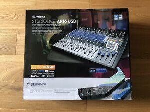 PreSonus Studiolive AR16 USB - 16/18 Kanal-Mischpult für Studio und Live