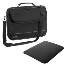 """NOTEBOOK Laptop TASCHE 17"""" Zoll 17,3 Notebooktasche Schutz Case Hülle + Mauspad"""
