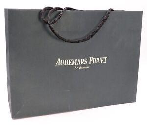 AUDEMARS PIGUET BAG PAPER BOLSA CASE FUNDA LUXE UNIQUE ORIGINAL GENUINE FOR BOX