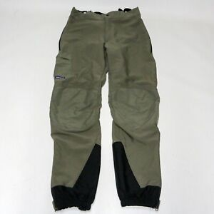 Patagonia Mens 34 Green M's Mixmaster Pants Special 34 MARS Suspenders