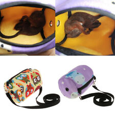 Outgoing Small Pet Carrier Hamster Small Animal Sleeping Traveling Handbag