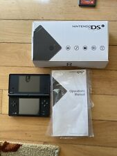 Nintendo DSi Pokemon Black Edition System No Charger FREE Ship!