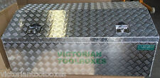 1200x600x500 mm Heavy duty Aluminium Toolbox Top Open Ute Trailer Truck Tool box