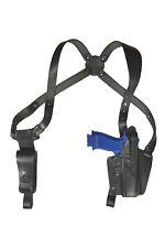 S24 Leder Schulterholster für Sig Sauer P320 X-Five Holster schwarz VlaMiTex