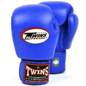 Twins Boxing Gloves Special Blue Muay Thai - BGVL-3