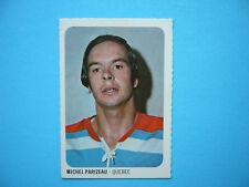 1973/74 QUAKER OATS WHA HOCKEY CARD #43 MICHEL PARIZEAU NM SHARP!! 73/74