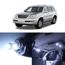 16 x White LED Interior Lights Package For 2003 - 2009 Lexus GX470 + PRY TOOL