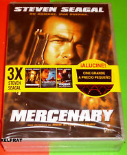MERCENARY + SUBMERGED + VENGADOR Today you one -English Español DVD R2 Precintad