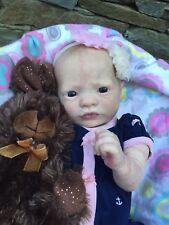 Beautiful Reborn Baby Doll Presley Awake By Denise Pratt!!!