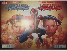 ULTIMATE COMICS ALL NEW SPIDER-MAN #200 ISSUE WITH THE REGULAR AND VARIANT COVER