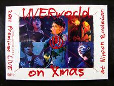 JPOP Concert UVERworld  2011 Premium LIVE on Xmas At Nippon Budokan DVD