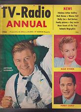 TV Radio Annual 1953 Arthur Godfrey Perry Como Red Buttons Wally Cox