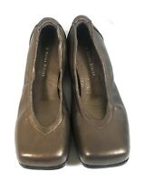 Petra Dieler Women Shoes Loafers Brown Leather Slip On Ballet Flats Size 37