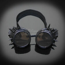 Steampunk Goggles Spike Black Costume Cosplay G1007