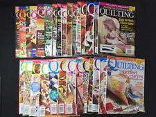 29 Lot Better Homes & Gardens Magazines American Patchwork & Quilting 1996 2010