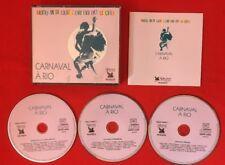 CARNAVAL À RIO SELECTION READER'S DIGEST RYTHMES DE LA DANSE 2004 TB ÉTAT 3X CD