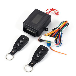 Car Remote Control Central Door Locking Keyless Entry System 20mA intermittently