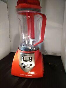 NEW Health Master Elite Blender - Model JLA-8 RED VERY NICE
