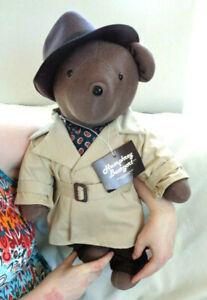 1983 Humphrey Beargart North American Bear Company VIB Casablanca Bogart