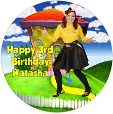 Personalised 19cm Emma The Wiggles Edible Wafer Paper Cake Topper