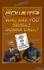 Equalizer TV Series FAN MADE 11 X 17 poster print #3