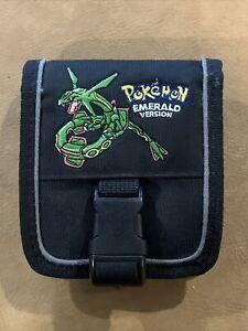 Pokemon Emerald Version Rayquaza Edition GBA GameBoy Advance SP Case
