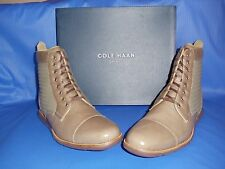 COLE HAAN MENS GRANDSPRINT CT BOOT II LACE UP DRESS BOOT, WALNUT, US 12M  C13629