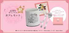 【Sailor Moon ×ANI-ON 25th】Original cafe 3set Limited quantity Akihabara