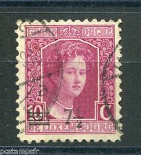 LUXEMBOURG, 1916-24, timbre CLASSIQUE 113A, M. ADELAIDE, oblitéré, VF used stamp