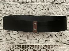 """AUTHENTIC MARNI ELASTICATED LEATHER DETAIL BELT 29"""""""
